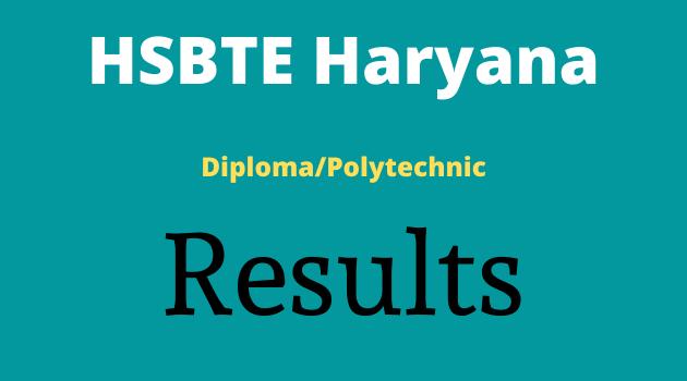 HSBTE Result Polytechnic